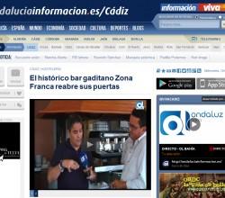 Bar Zona Franca reabre sus puertas