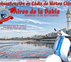 II Concentración en Cádiz de Motos Clásicas