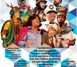 Carnaval VI FESTIVAL BENÉFICO DE AFANAS – CÁDIZ