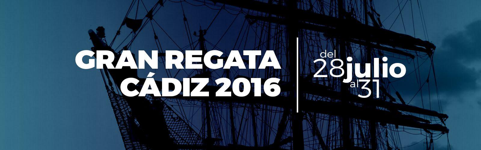REGATA VELEROS 2016 Cádiz