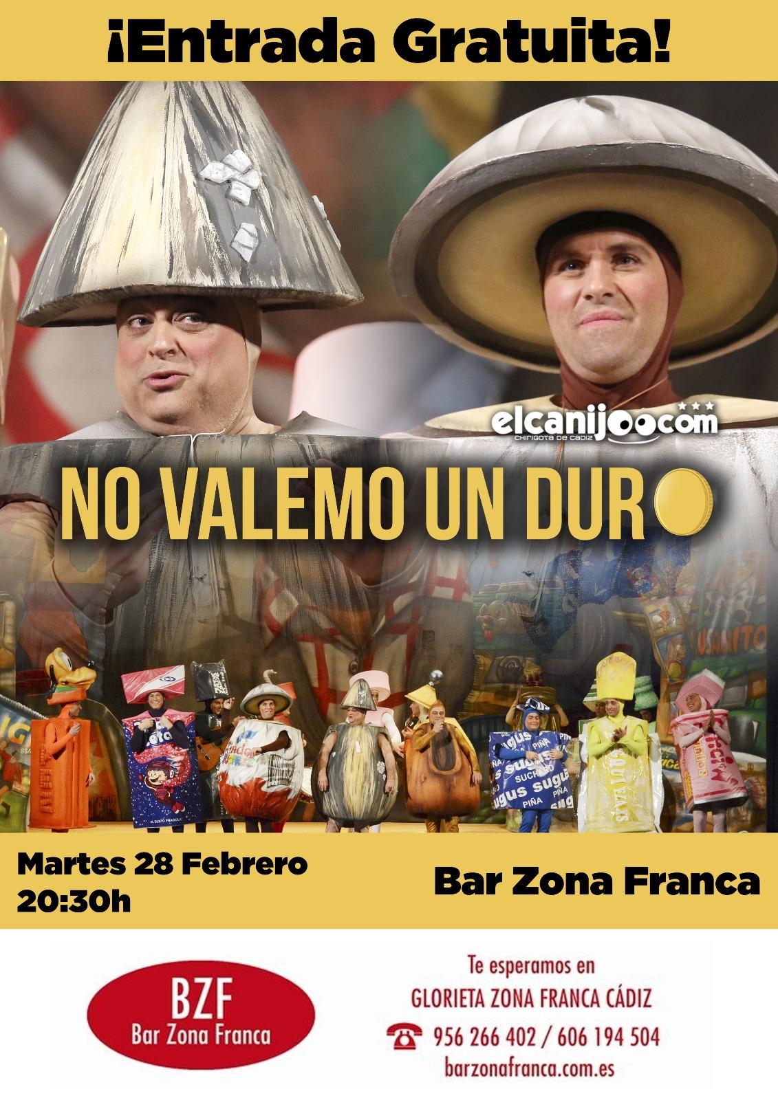 """Evento BZF """"No Vale un Duro"""""""