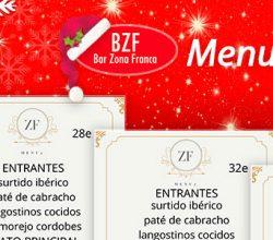Menús de Navidad 2018 en BZF Cádiz